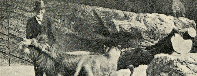 The danish magazine: Frem, Nummer 52, 10. årgang. 29. september 1907. Photographer unknown