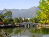 Der Beijing Botanical Garden in Peking, China © Daderot